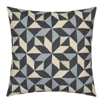 Kaleidoscope Cushion - 50x50cm - Grey Tones