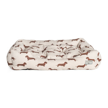 Dachshund Dog Bed - Medium - Wire Hair