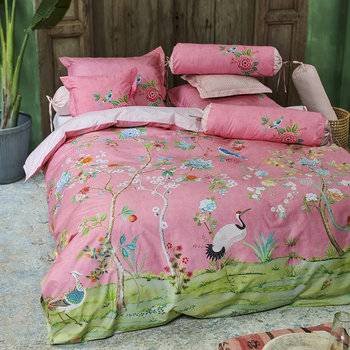 Good Morning Duvet Set - Pink