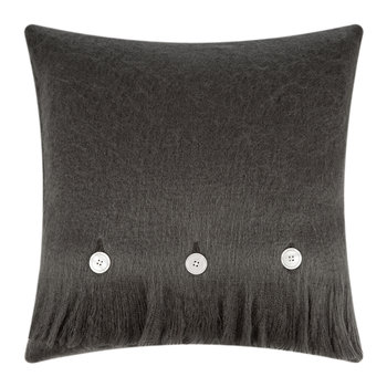 Mohair Feel Pillow - 45x45cm - Charcoal