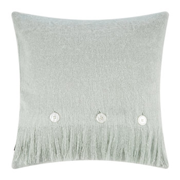 Mohair Feel Pillow - 45x45cm - Aqua