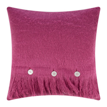 Mohair Feel Pillow - 45x45cm - Fuchsia