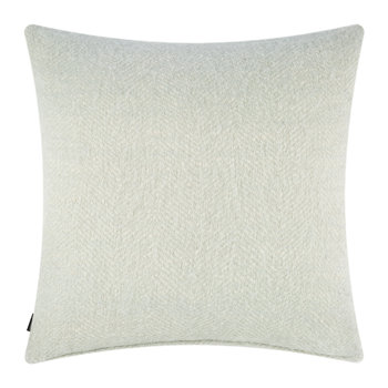 Herringbone Pillow - 60x60cm - Duck Egg