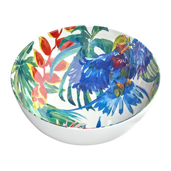 Tropical Birds Salad Bowl
