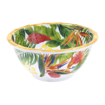 Exotic Flowers Bowls - Set of 2