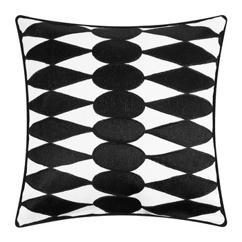 Iman Cushion Cover - Black/White - 50x50cm