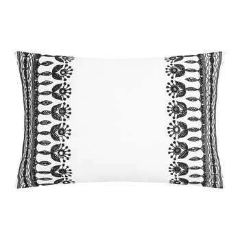 Jewel Cushion Cover - Black/White - 40x60cm