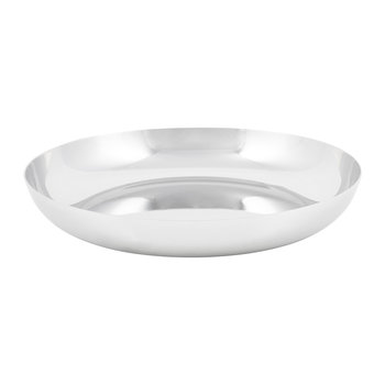 Modern Tableware Salad Plate - Stainless Steel