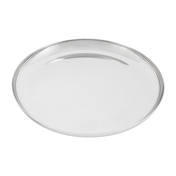 Modern Tableware Serving Tray - Stainless Steel