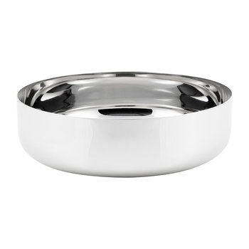 Modern Tableware Salad Bowl - Stainless Steel