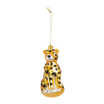 Panther Tree Decoration - Gold