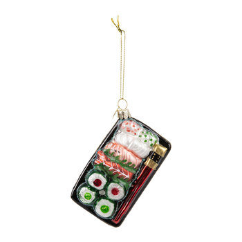 Sushi Plate Tree Decoration