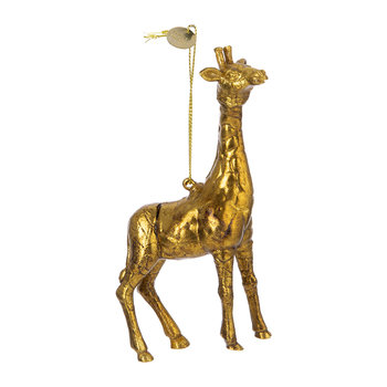 Giraffe Tree Decoration - Gold