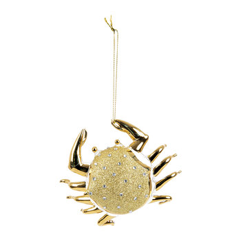 Crab Tree Decoration - Gold