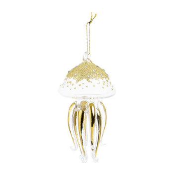 Jellyfish Tree Decoration - Gold
