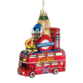 London City Glass Tree Decoration