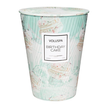 Macarons Giant Ice Cream Cone Table Candle - Birthday Cake - 737g