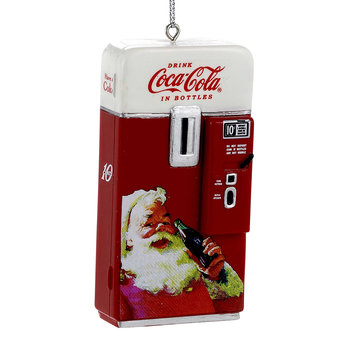Coca-Cola Vending Machine Tree Decoration