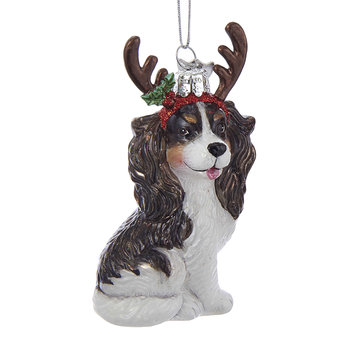 King Charles Tree Decoration - Dark Brown