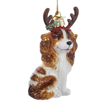 King Charles Tree Decoration - Light Brown