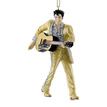 Elvis Tree Decoration - Gold Suit with Guitar