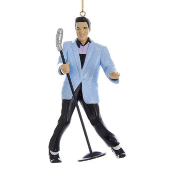 Elvis Tree Decoration - Blue Suit