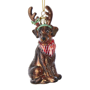 Labrador Retriever Tree Decoration - Brown