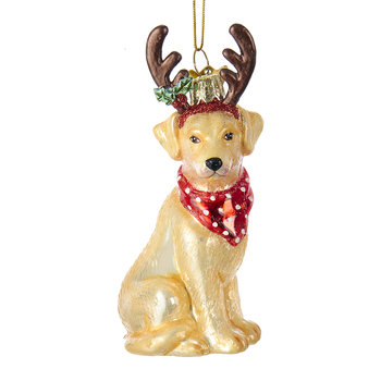 Labrador Retriever Tree Decoration - Yellow