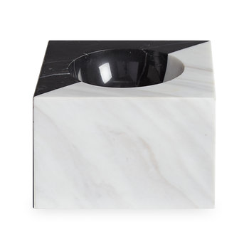 Canaan Marble Bowl - Black/White