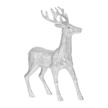 Deer Ornament - Large - Silver