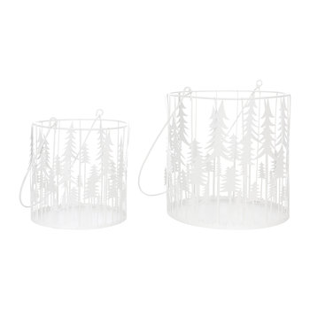 Virborg Candle Holders - Set of 2 - White