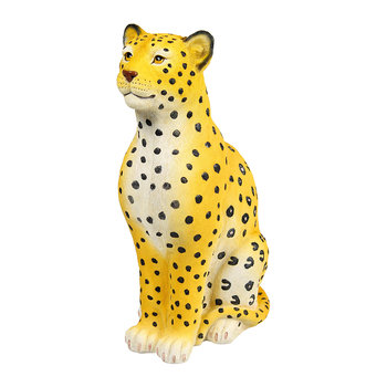Leopard Money Box - Yellow