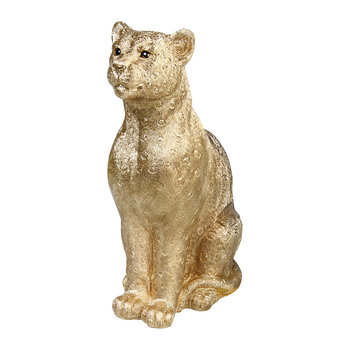 Leopard Money Box - Gold