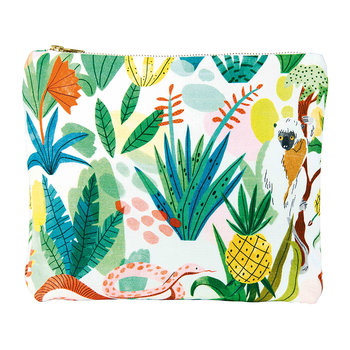 Bodil Sloth Wash Bag/Clutch - Cotton - Large