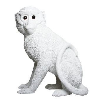 Monkey Money Box - White