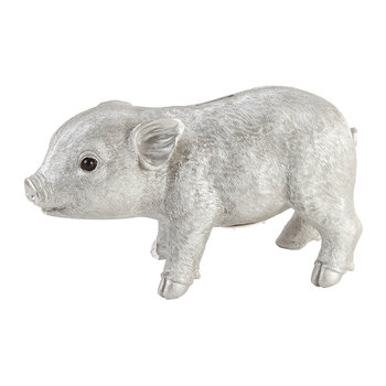 Pig Money Box - Silver