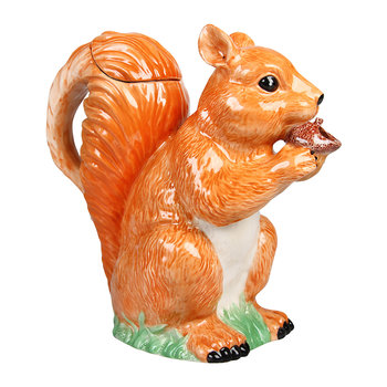 Squirrel Porcelain Jug