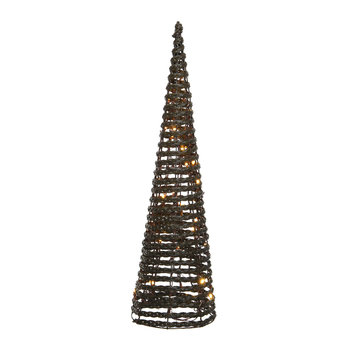 LED Outdoor Wicker Tree Ornament