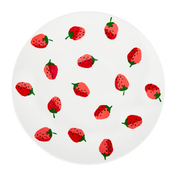 Strawberries Dinner Plate