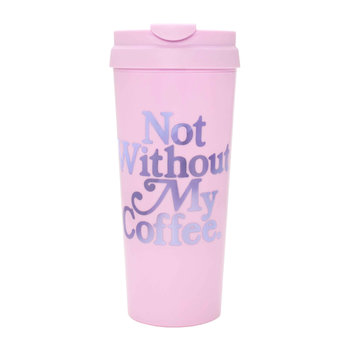 Hot Stuff Thermal Mug - 'Not Without My Coffee'