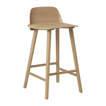 Nerd Bar Stool - Oak