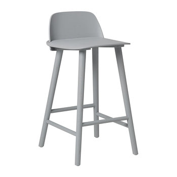 Nerd Bar Stool - Grey