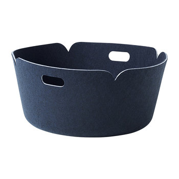 Restore Round Basket - Midnight Blue