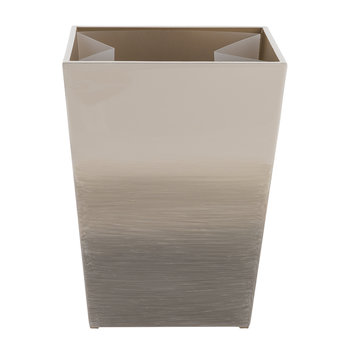 Omber Waste Bin - Natural/Gold