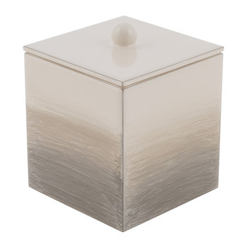 Omber Square Container - Natural/Gold