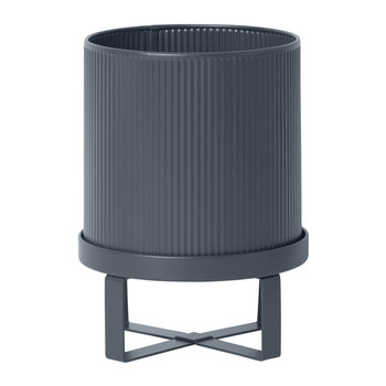 Bau Outdoor Plant Pot - Dark Blue