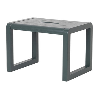 Little Architect Wooden Stool - Dark Blue