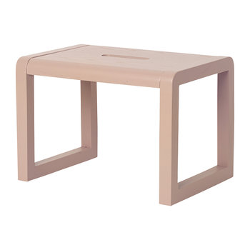 Little Architect Wooden Stool - Rose