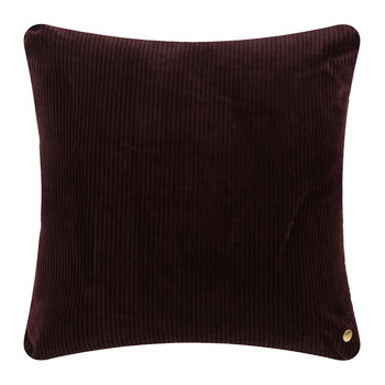 Corduroy Pillow - 45x45cm - Burgundy