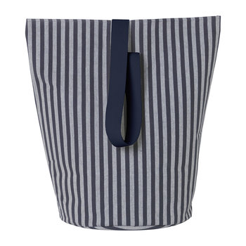 Chambray Basket - Large - Striped